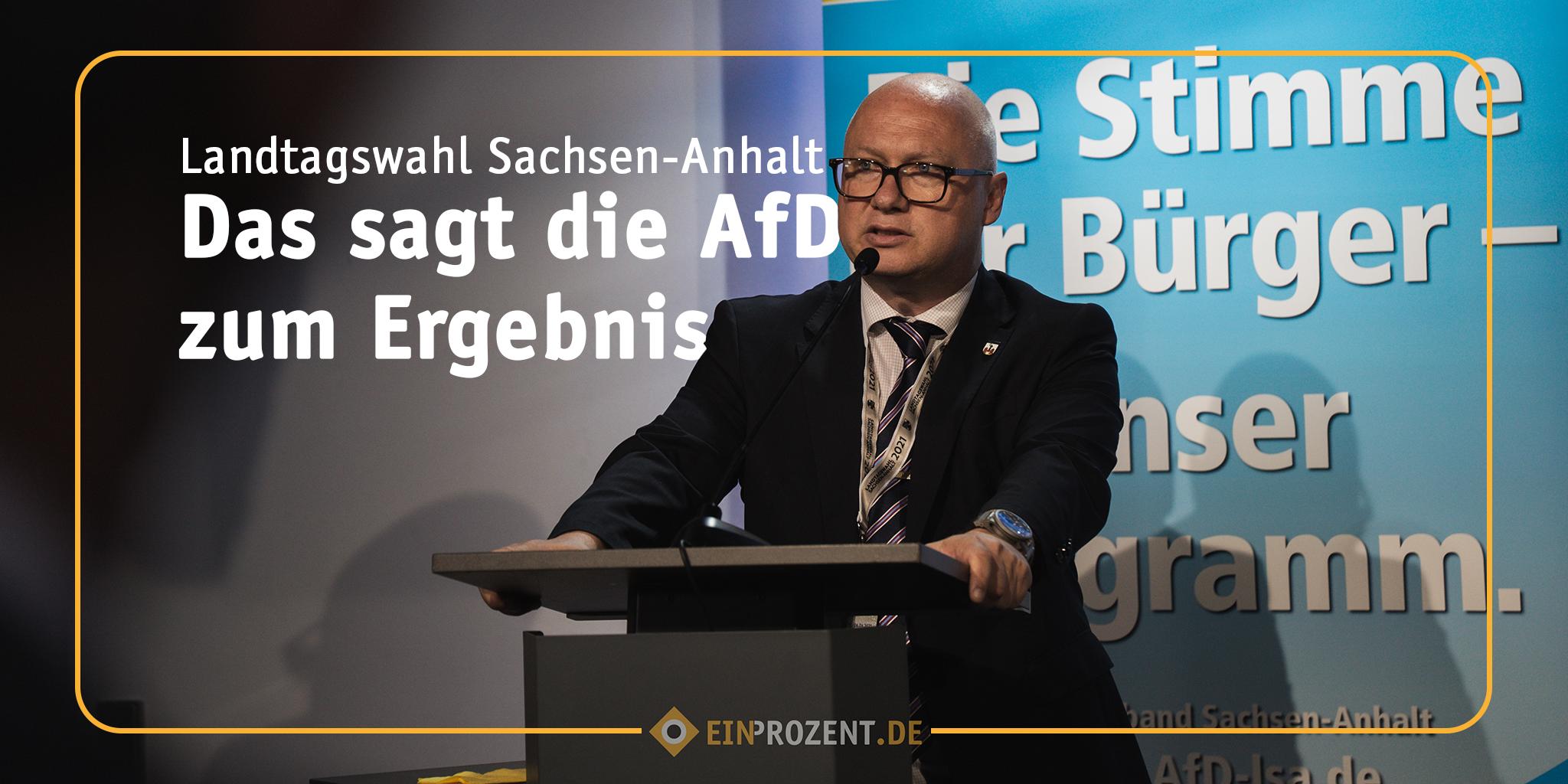 Sachsen-Anhalt: Das sagt die AfD!