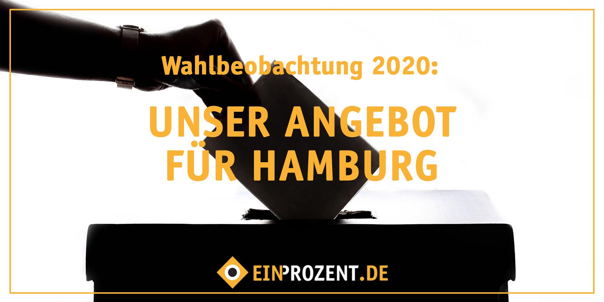 Wahlbeobachtung: Unser Angebot für Hamburg