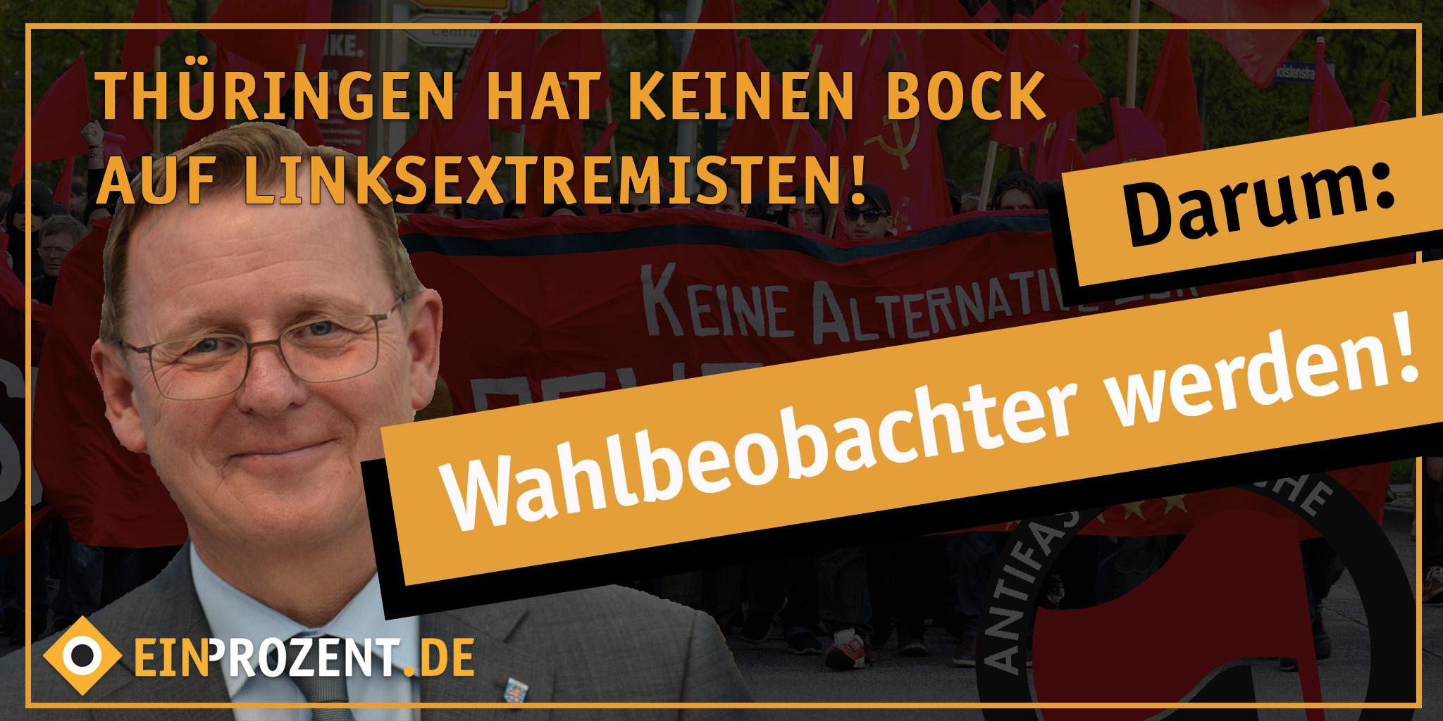 Wahlbeobachtung Thüringen: Alle gut vorbereit?