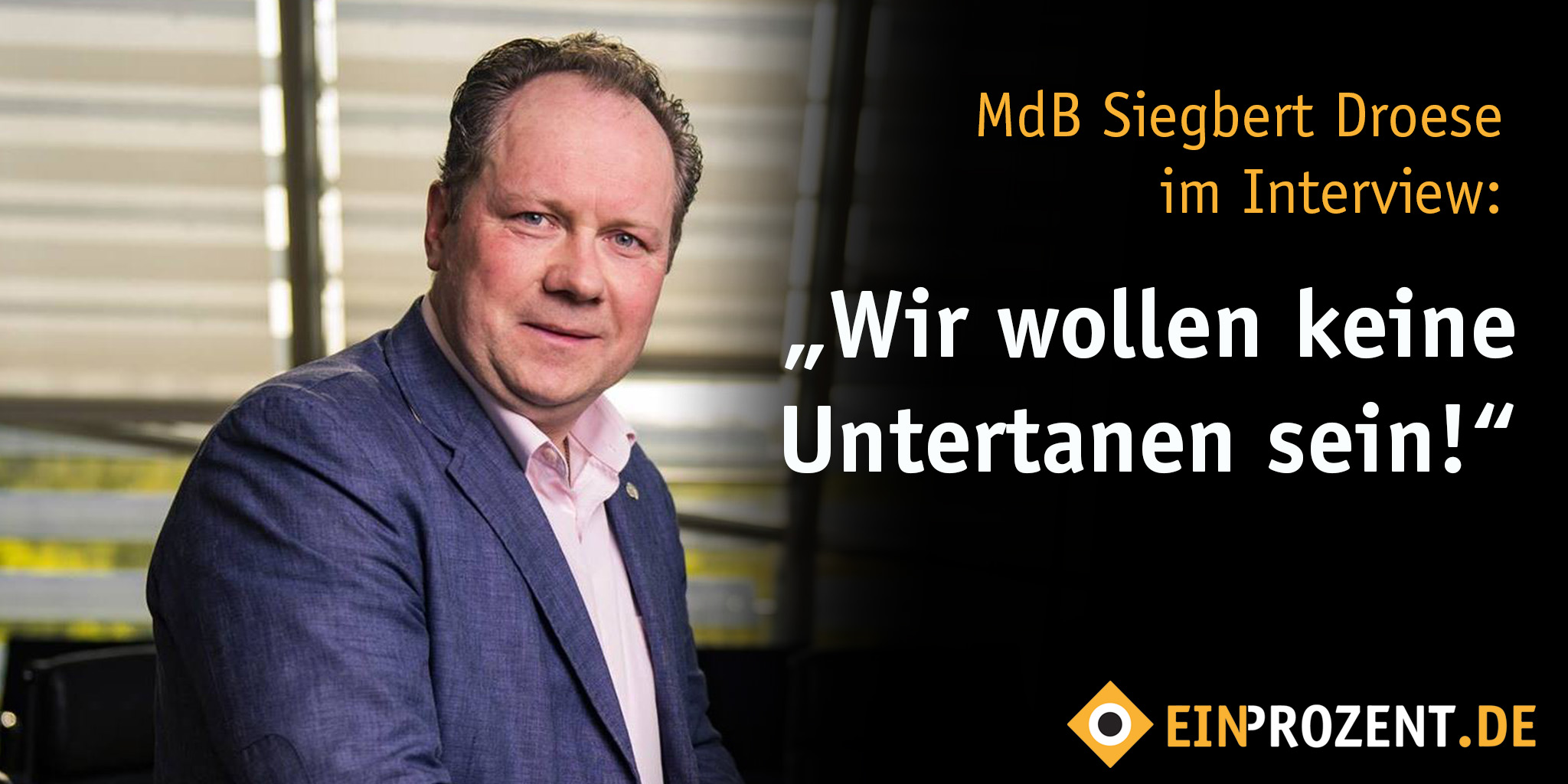 """Interview: """"Die Sachsen-AfD bleibt auf Kurs"""""""