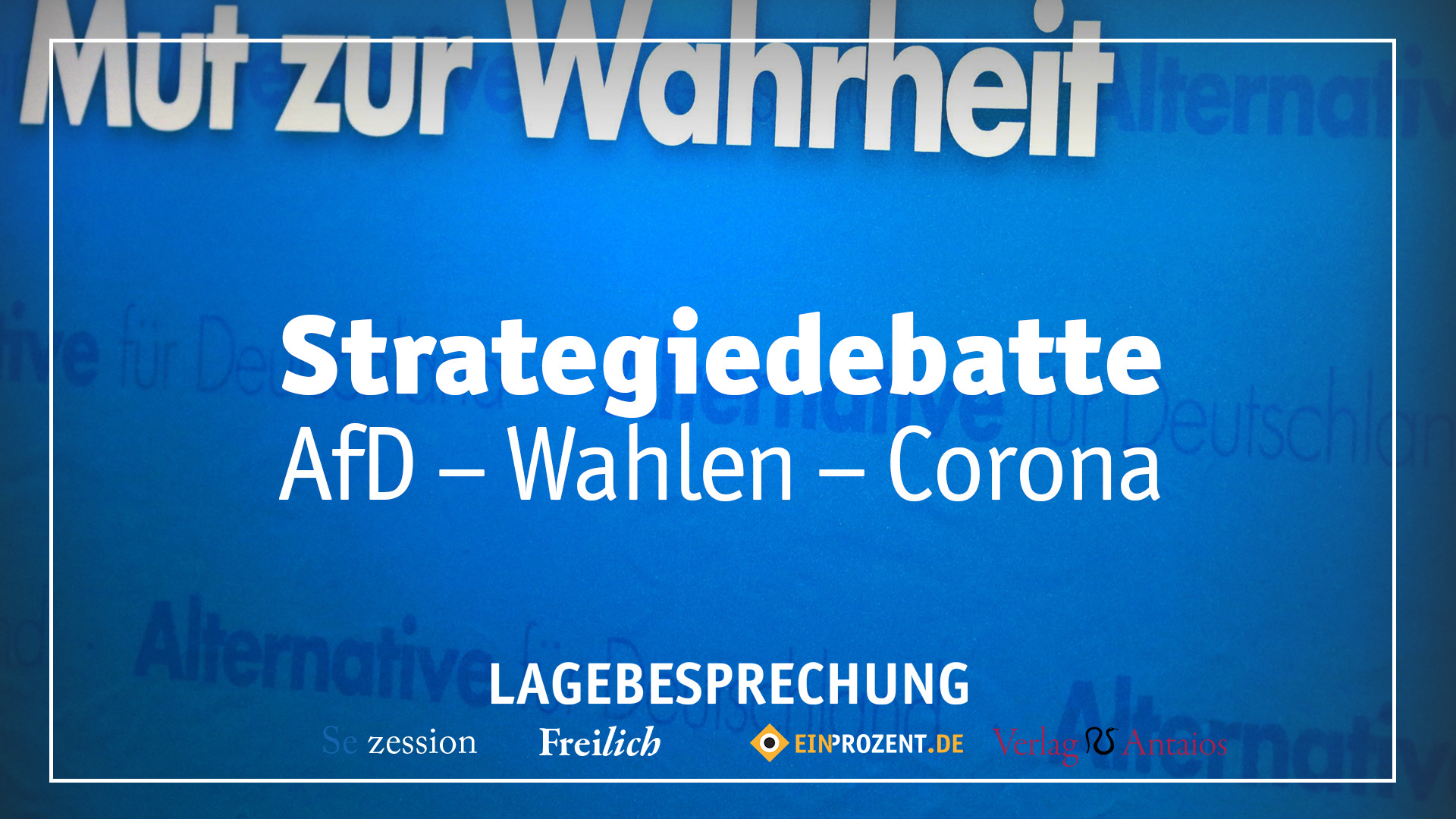 Strategiedebatte im Podcast: AfD, Wahlen, Corona