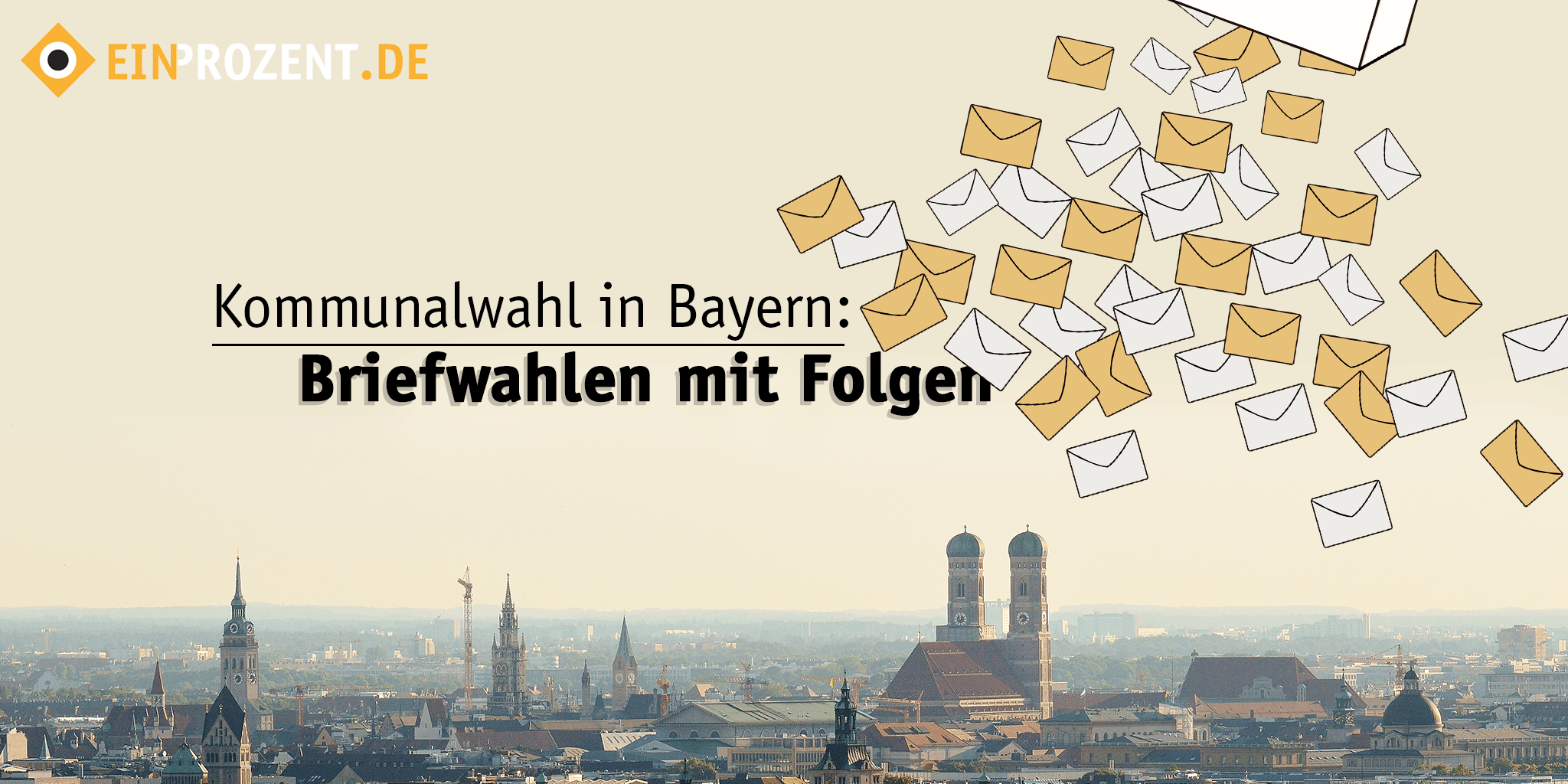 Wahl in Bayern: 100% Briefwahl, 100% intransparent