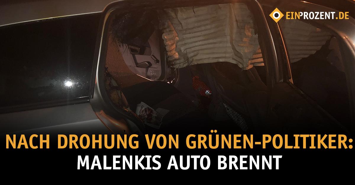 Antifa: Brandanschlag auf Malenkis Auto