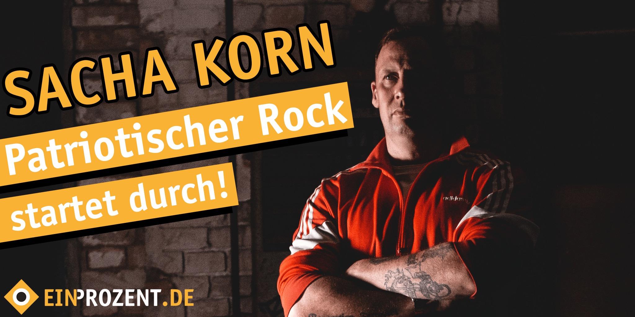 Patriotischer Rock Sacha Korn Unsere Kraft