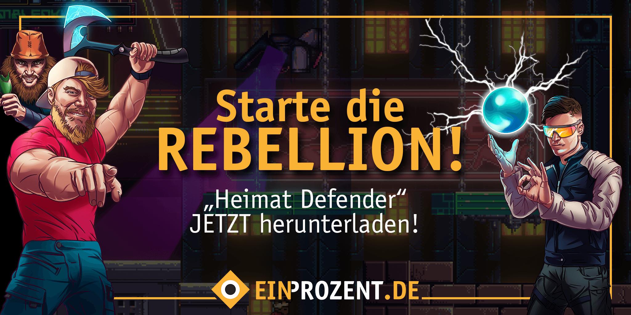 Heimat Defender Rebellion Jetzt Spielen