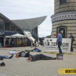 Protest in Rostock.
