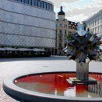Blutbrunnen in Leipziger Altstadt.