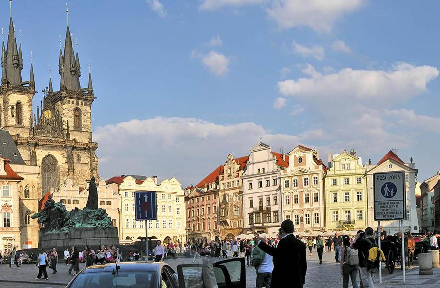Prag Altstadt Islamismus