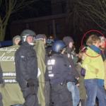 Berliner MdA Canan Bayram (GRÜNE) auf linksextremer Demo in Berlin
